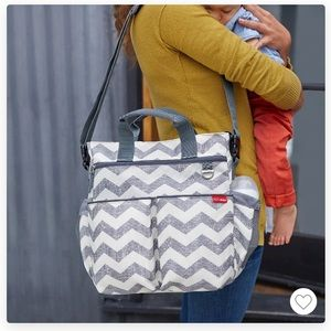 Skip Hop Chevron Diaper Bag